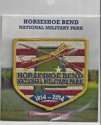 Souvenir Patch - Horseshoe Bend National Military Park, Alabama