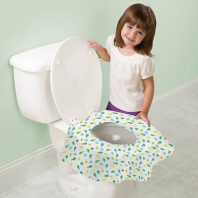 Keep Me Clean Disposable Toilet Seat Protector Large Hygienic Pubblic WC Cover