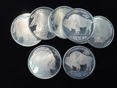 Liberty Indian Head Buffalo 2009 Silver 1 troy oz .999 Fine Silver Round ST