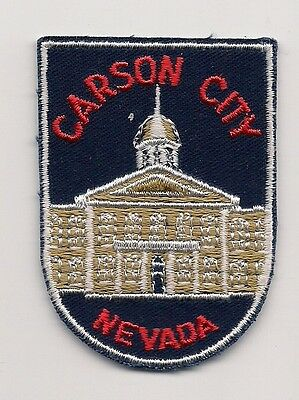 Souvenir Voyager  Patch - Carson City, Nevada
