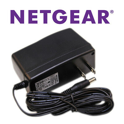Genuine Netgear 12V AC Adapter Power Supply for Wireless Router Cable DSL Modem