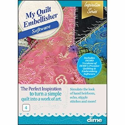 DIME Designs in Machine Embroidery My Quilt Embellisher New