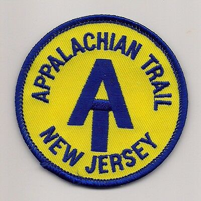 Appalachian Trail Souvenir Patch - New Jersey