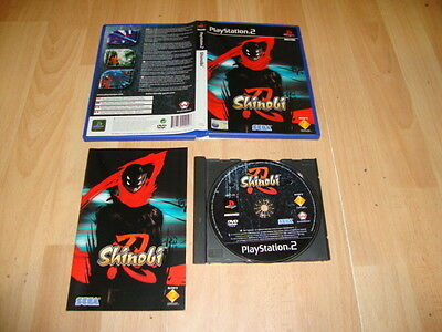 Shinobi De Sega Para La Sony Play Station 2 Ps2 Usado Completo