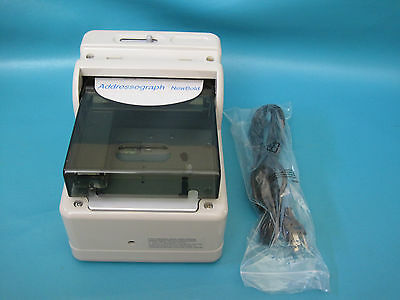 NewBold Addressograph Credit Card Imprinter Model 830