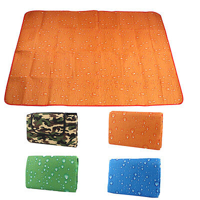 Outdoor Camping Flannelette Water Resistant Beach Picnic Mat 180 x 50cm