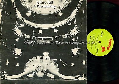 Lp--Jethro Tull A Passion Play // Foc // Chr 1040