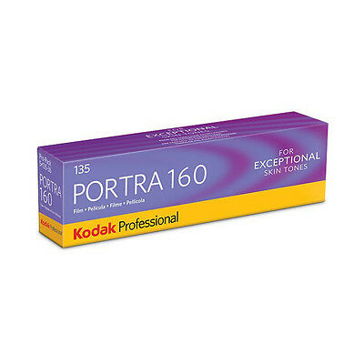 Kodak Professional Portra 160 - 135-36 - Colour Negative Print Film - 5 PACK