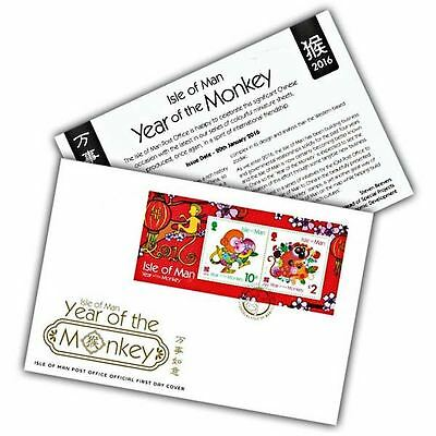 Year of the Monkey First Day Cover