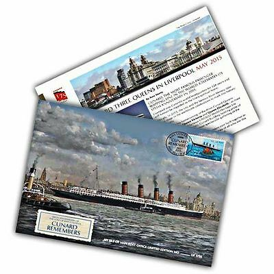 Cunard 175th Anniversary Lusitania Remembered Special Cover