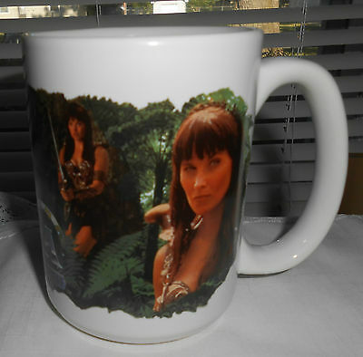 Xena Warrior Princess Lucy Lawless Figural Coffee Mug