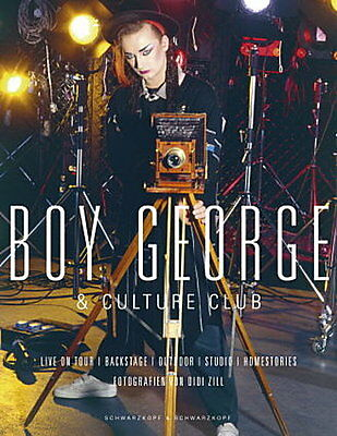 Boy George & Culture Club. Live On Tour / Backstage / Homestories / Studio  ...