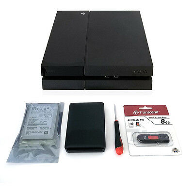 1TB 7200RPM Hard Drive Upgrade Kit for Sony Playstation PS4