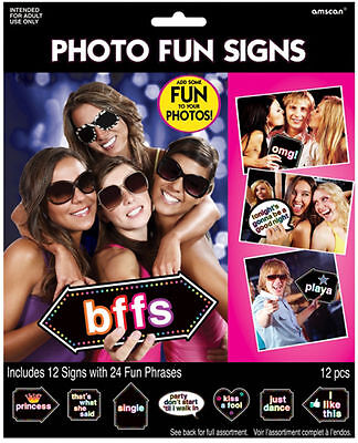 HEN Night Party / Bridal Shower Party Signs Decorations Photo Prop Girls Night