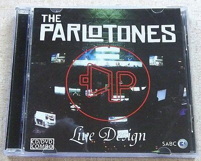 THE PARLOTONES Live Design CD + DVD SOUTH AFRICA Cat# SOVCD 041