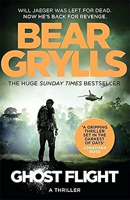 Bear Grylls __ Ghost Flight ___ Brand New ___ Uk Freepost