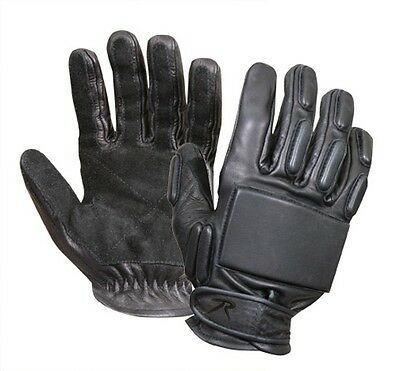 Rothco 3451 Full Finger Rappelling Gloves Reinforced Suede Palms