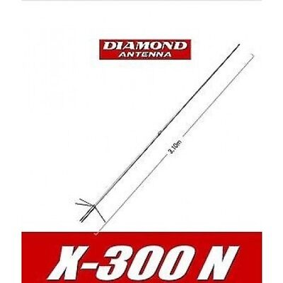 Antenna da base Diamond X-300N VHF/UHF