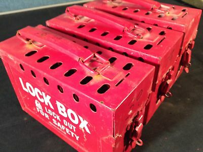 (1) Lock Box Lock Out Tag Out Box