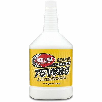 Red Line 50104 75W85 GL-5 Gear Oil 1 Quart