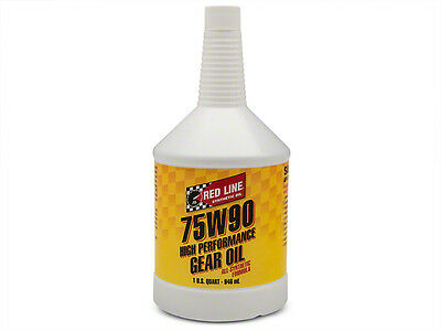 Red Line 57904 Synthetic Gear Oil GL5 75W90 - 1 Quart