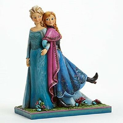 Anna and Elsa Frozen Sisters Forever Jim Shore Figurine