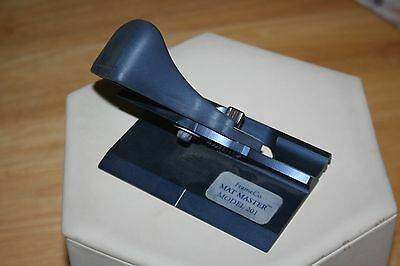 Frameco Mat Master Model 201 Bevel Cutter Right Handed Easy Grip Handle