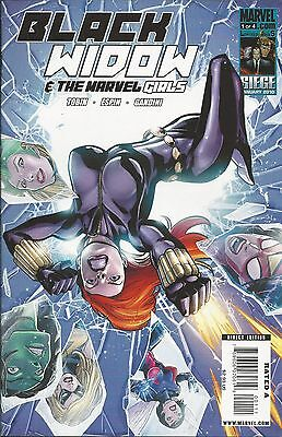 Black Widow and the Marvel Girls comic issue 1