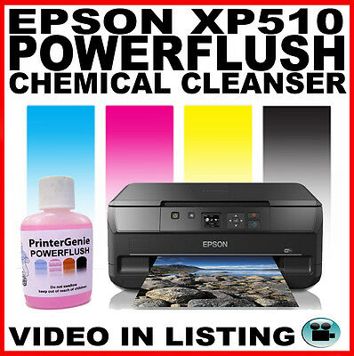 Epson Expression XP510: Head Cleaning Kit Nozzle Cleanser: Printhead Unblocker
