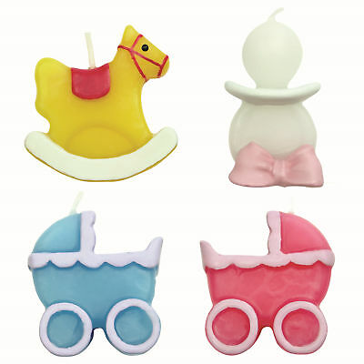 PME 4 Set BABY Candles Birthday Party Cake Decorating