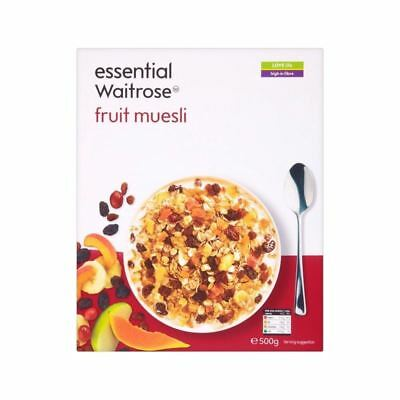 Fruit Muesli essential Waitrose 500g