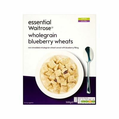 Blueberry Wheats essential Waitrose 500g