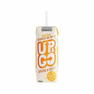 Up&Go Banana & Honey Breakfast Drink with Oats 250ml