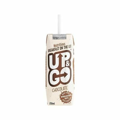 Up&Go Chocolate Breakfast Drink with Oats 250ml