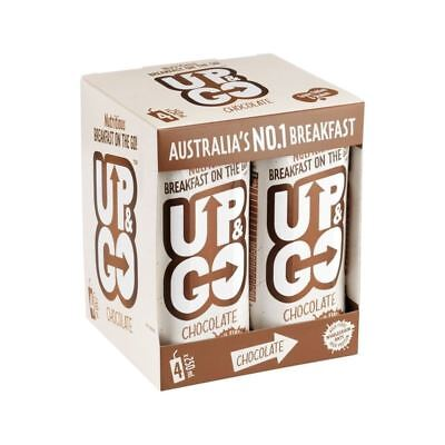 Up&Go Chocolate Breakfast Drink with Oats 4 x 250ml