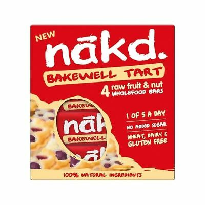 Nakd Bakewell Tart Fruit & Nut Bar Multipack 4 x 35g