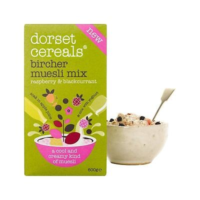 Dorset Cereals Raspberry & Blackcurrant Bircher Muesli Mix 600g