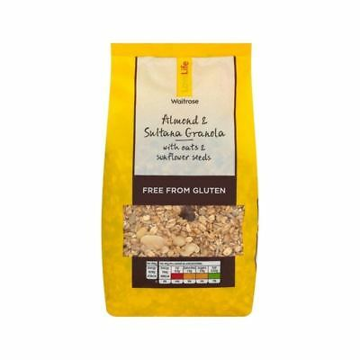Gluten Free Granola with Fruit & Nut Waitrose Love Life 500g