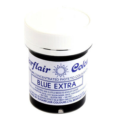 Sugarflair BLUE EXTRA Maximum Concentrated Paste Food Colouring