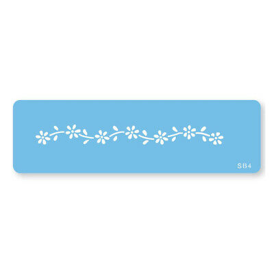 JEM DAISY CHAIN Flower Cake Decorating Stencil Sugarcraft Decoration Baking