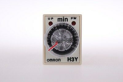 1 pc H3Y-2 DC12V 5A 0.5min-10min 10minutes Time timer relay 8pin