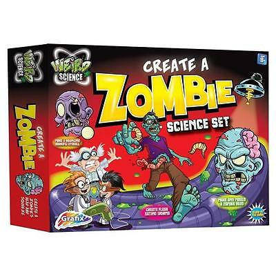 Childrens Gross Science Experiment Make A Zombie Kit/Set Educational Toy Wild