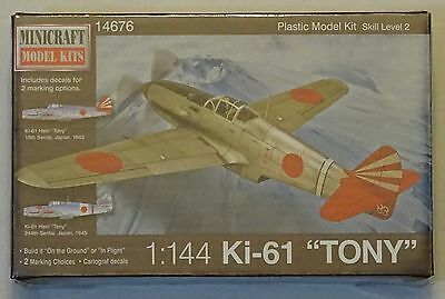 "MINICRAFT 14676 Ki-61 ""Tony"" in 1:144"