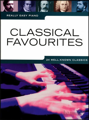 Really Easy Piano Classical Favourites Sheet Music Book