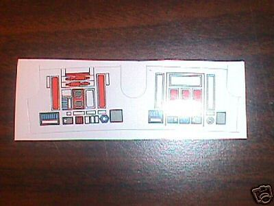 R5-D4  Replacement  STICKER  Perfect!!!! Star Wars