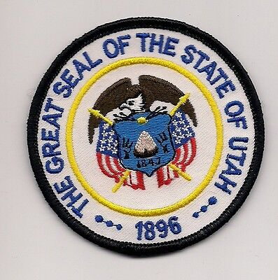 Souvenir Patch - The State Of Utah- Seal