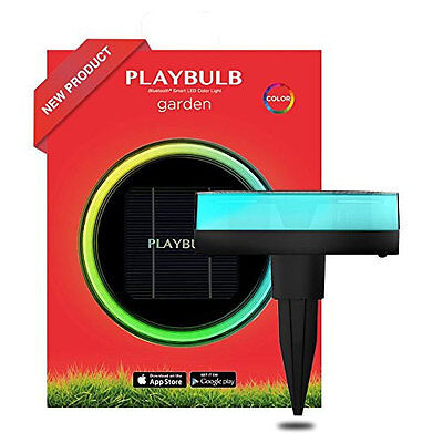 New Mipow Playbulb Solar Powered Garden Bluetooth Led Lights - Set Of Five