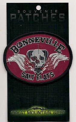 Souvenir Utah Patch - Bonneville Salt Flats