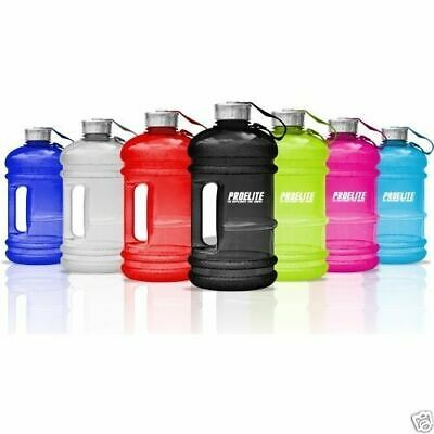 Large 2.2Litre BPA-Free Sport Gym Half Gallon Training Workout Water Bottle