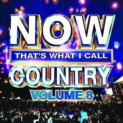 Now That's What I Call Country Volume 8 Various Artists Audio CD New